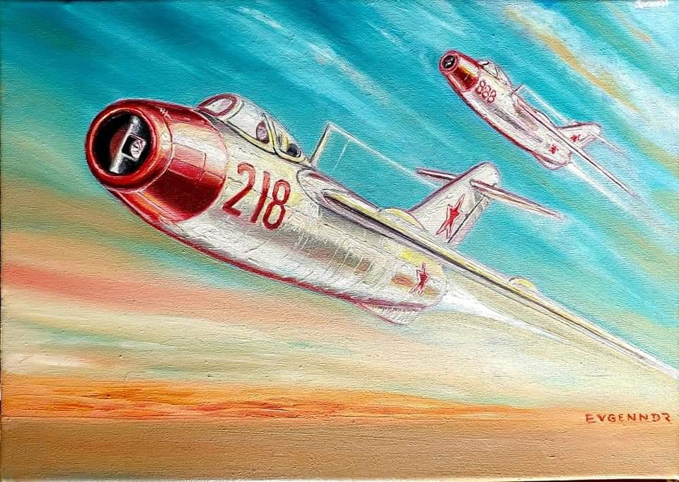 """Aviation Art. """"Жизнерадостно"""""""