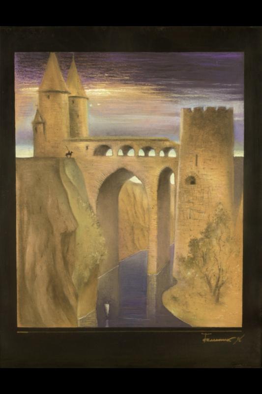 Борис Талесник, архитектор, художник. Замок