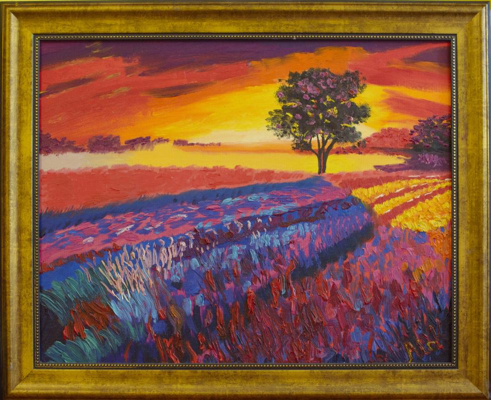 Maria Kozlovskaya. Sunset