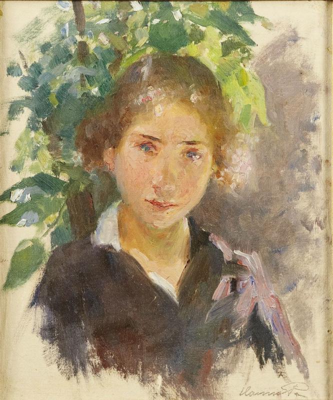 Ханна Паули. Портрет юной девушки