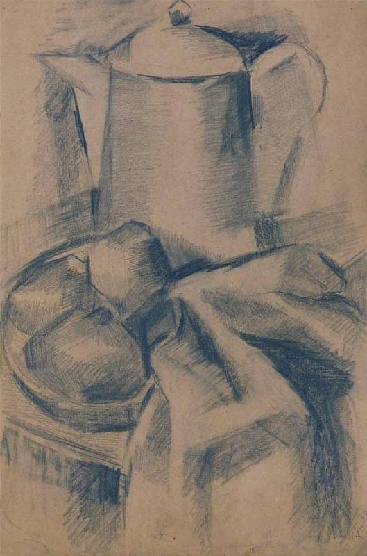 Анна Александровна Лепорская. Натюрморт с чайником