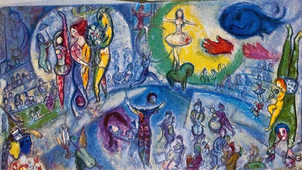 Marc Chagall. Le Grand Cirque