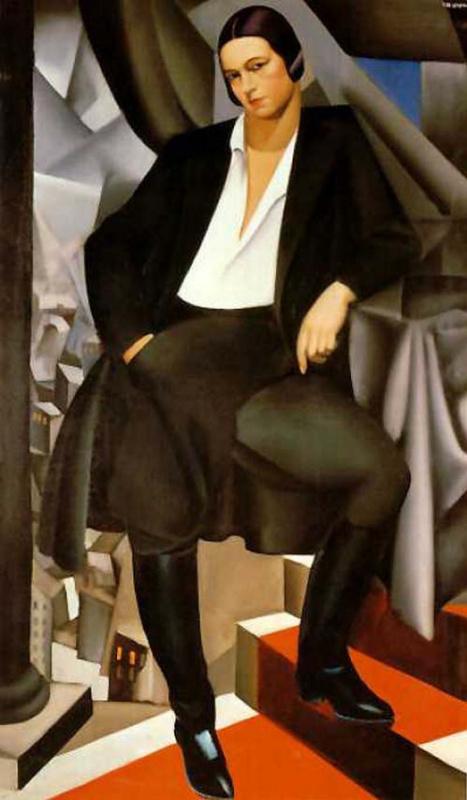 Тамара Лемпицка. Женщина в костюме