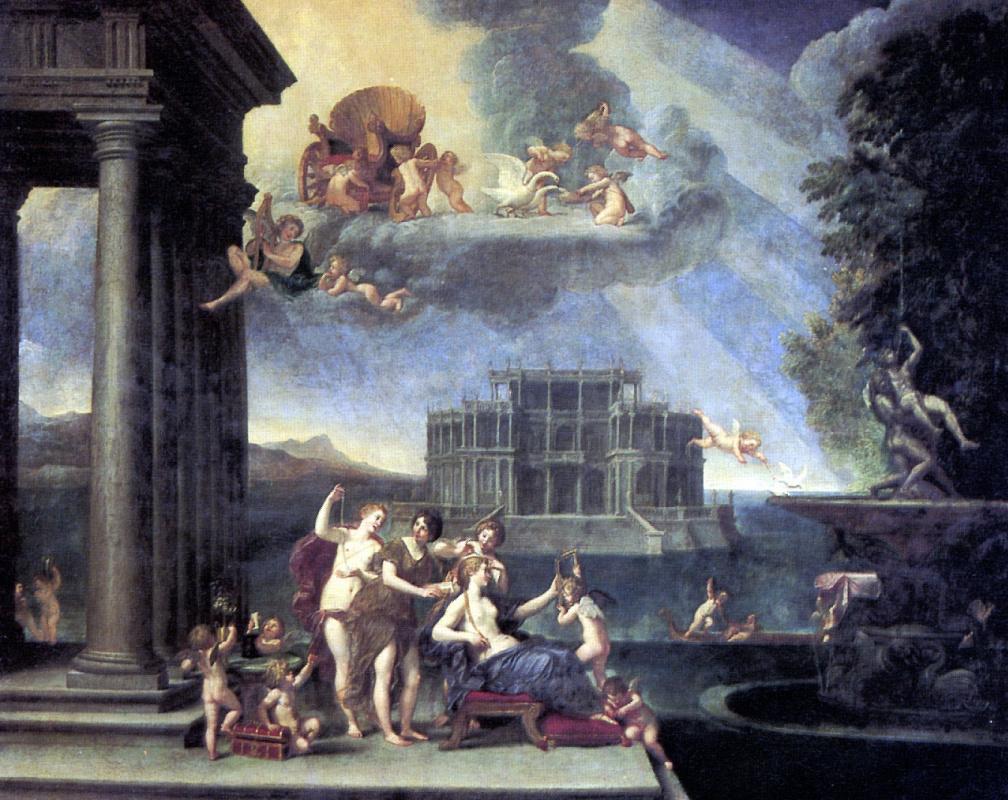 Франческо Альбани. Туалет Венеры
