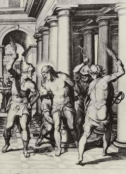 Орацио Саммакини. Бичевание Христа