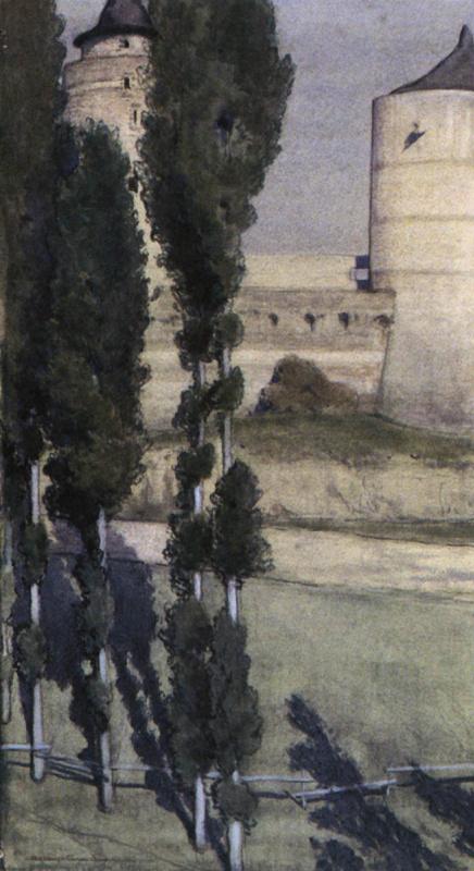 Alexander Nikolaevich Benoit. View of the castle