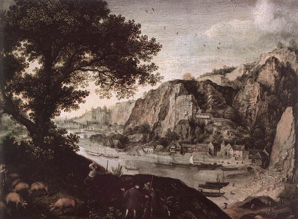 Лукас ван Фалькенборх. Пейзаж