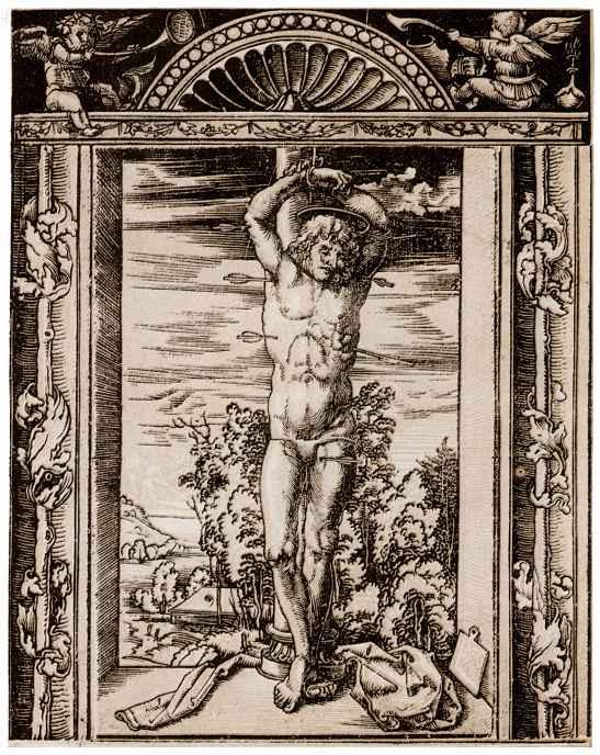 Hans Wehtlin. Saint Sebastian