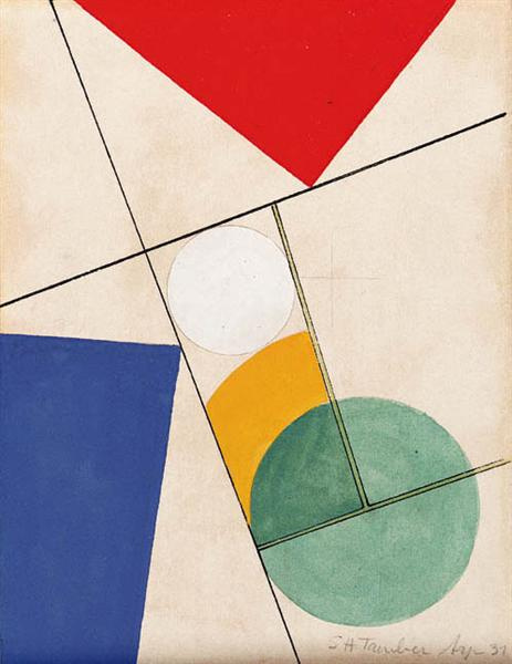 Sophie Toibert-Arp. Composition