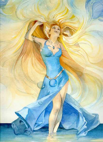 Кайса Флинкфелдт. Богиня