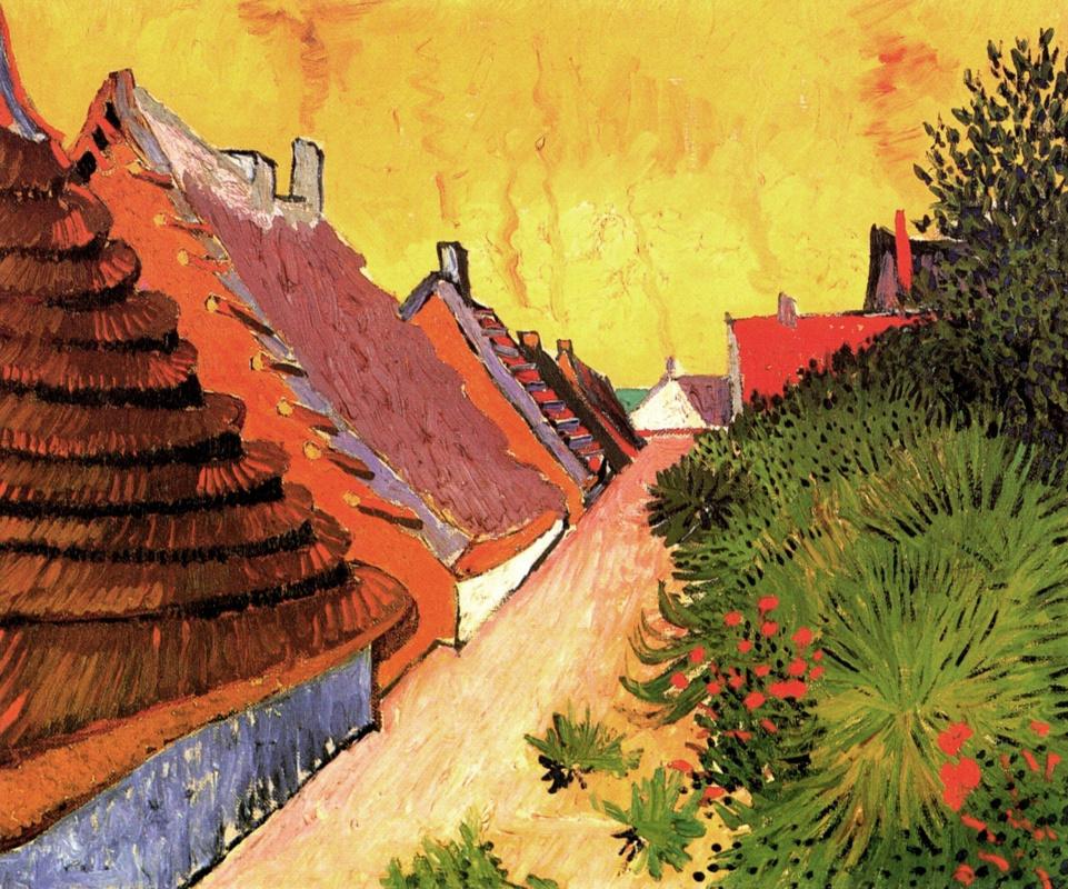 Винсент Ван Гог. Улица в Сент Мари