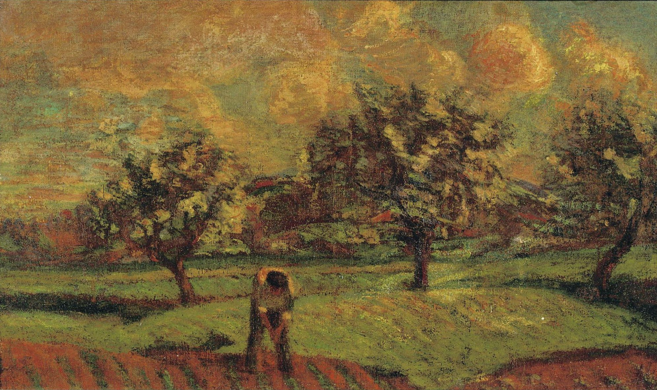 Armand Guillaumin. Landscape in the Ile-de-France