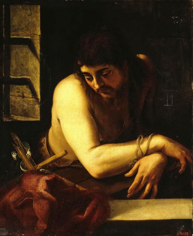 Хуан Фернандес де Наваррете. Иоанн Креститель в темнице