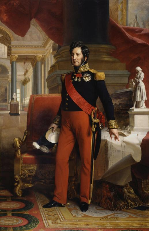 Franz Xaver Winterhalter. Louis-Philippe I of Bourbon, king of France