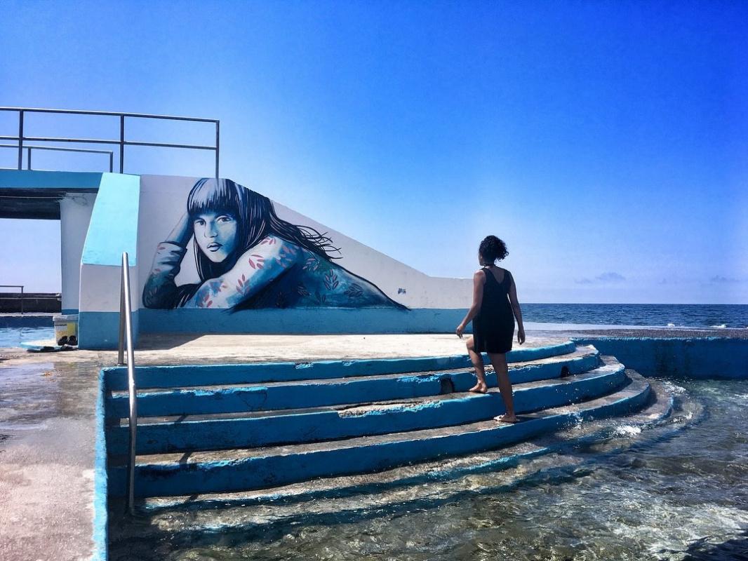 Alice Pascini. Mural, Azores