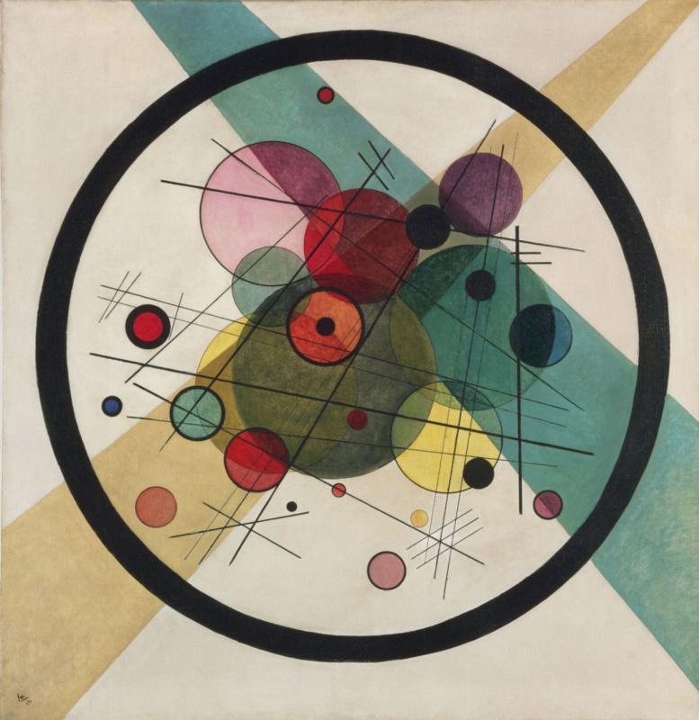 Wassily Kandinsky. Circles in circle