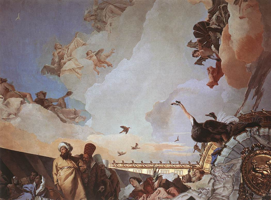 Джованни Баттиста Тьеполо. Триумф испанской монархии