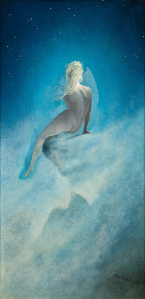 Carl Wilhelm Diefenbach. Question to the stars