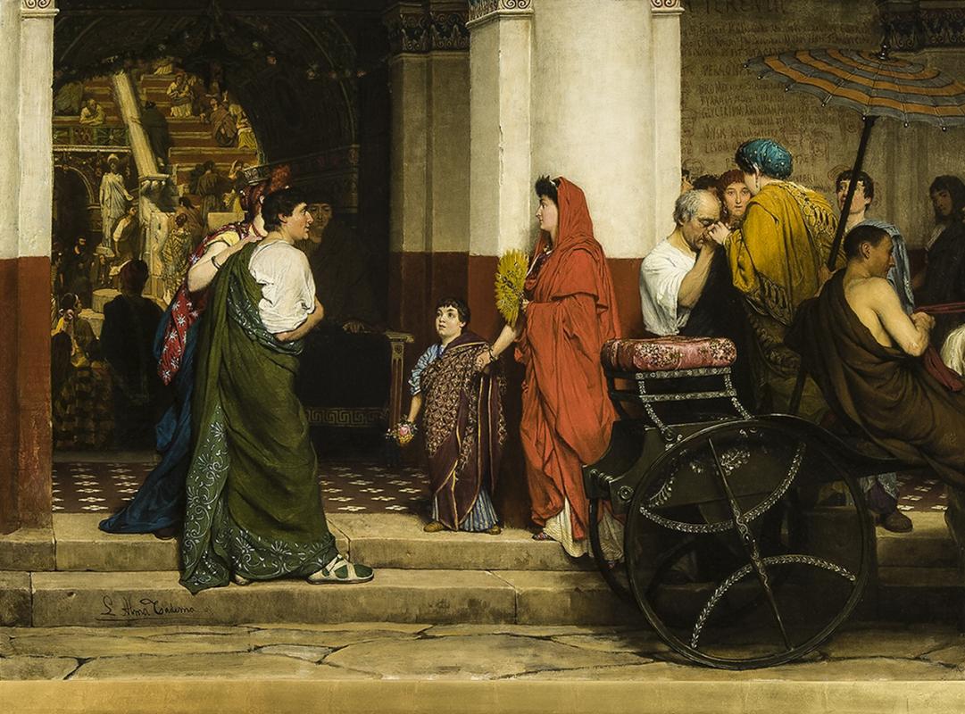 Лоуренс Альма-Тадема. Вход в римский театр
