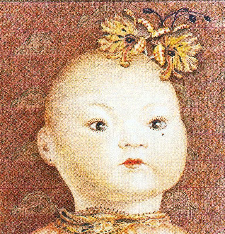 Ковадонга Саррагуа. Голова ребенка