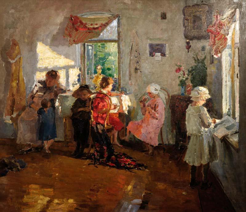 Сергей Арсеньевич Виноградов. Гости