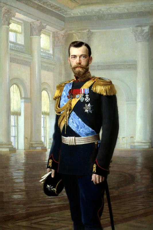 Эрнест Липгарт. Портрет императора Николая II