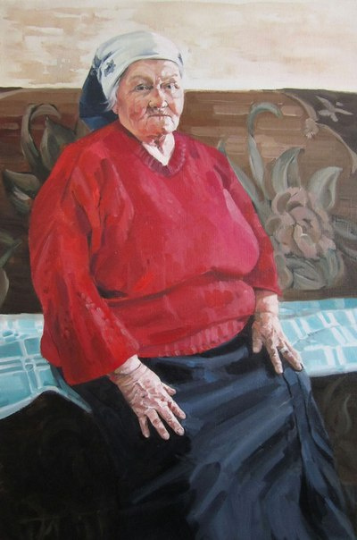 (no name). Grandmother's portrait