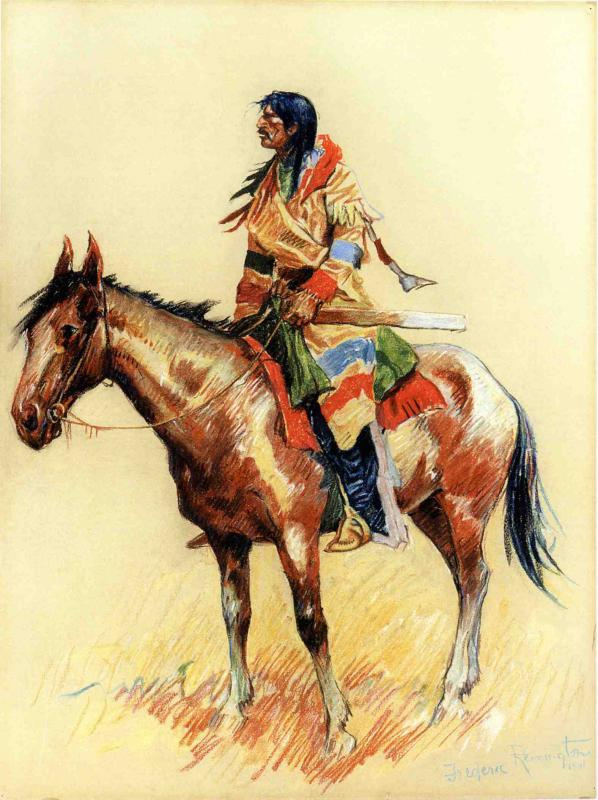 Frederick Remington. Indian