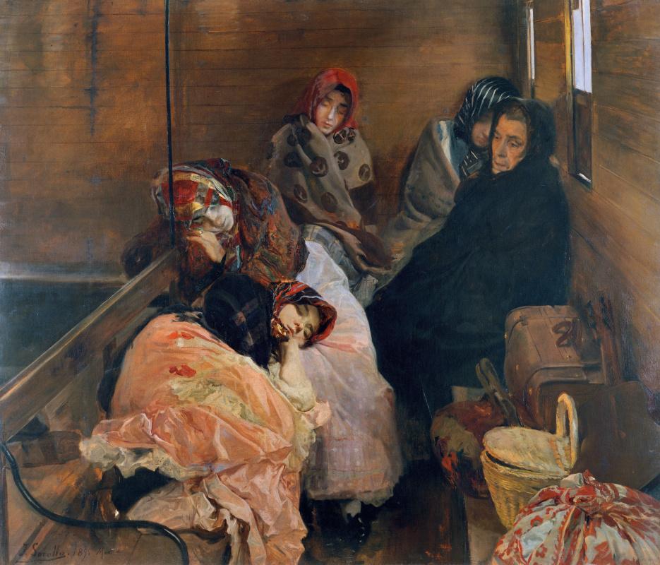 Хоакин Соролья (Соройя). Белая работорговля