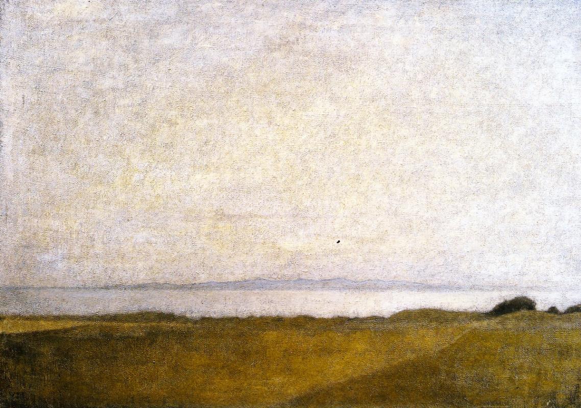 Вильгельм Хаммерсхёй. Пейзаж