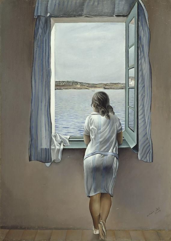 Salvador Dali. The figure at the window
