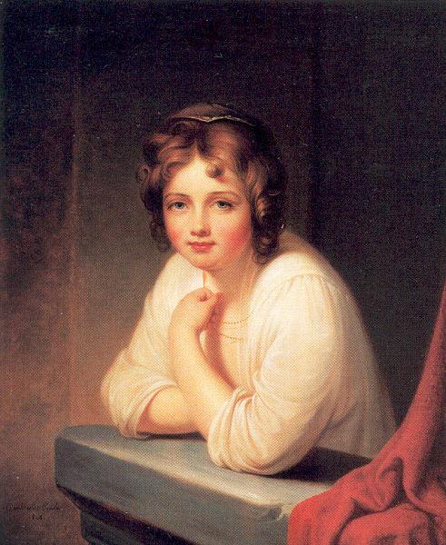 Рембрандт Пил. Очаровательная женщина