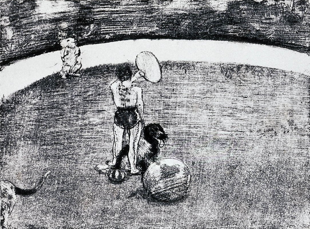 Edgar Degas. In the circus Fernando