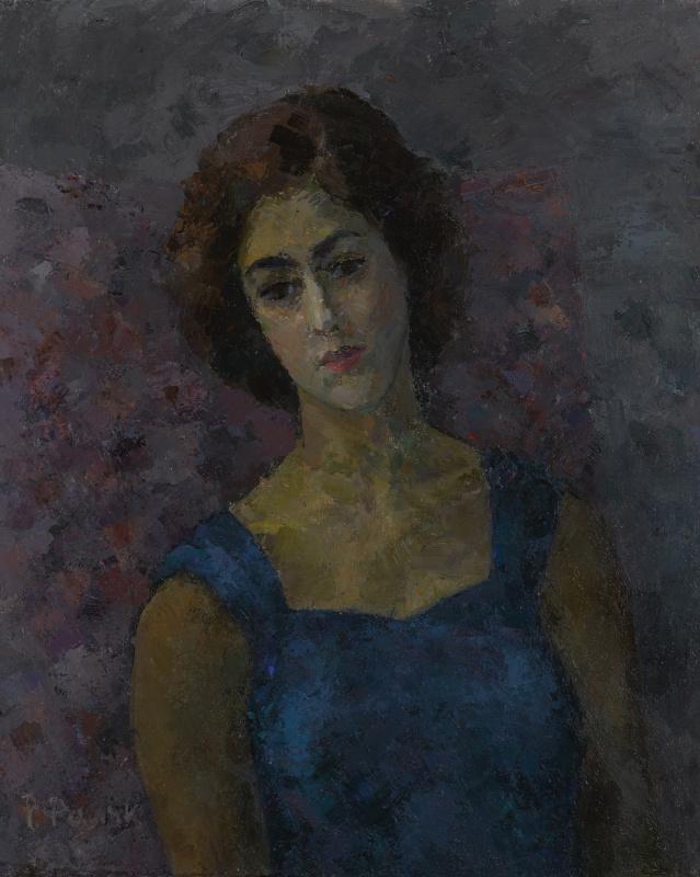 Роберт Рафаилович Фальк. Гречанка (портрет Инны Костакис)