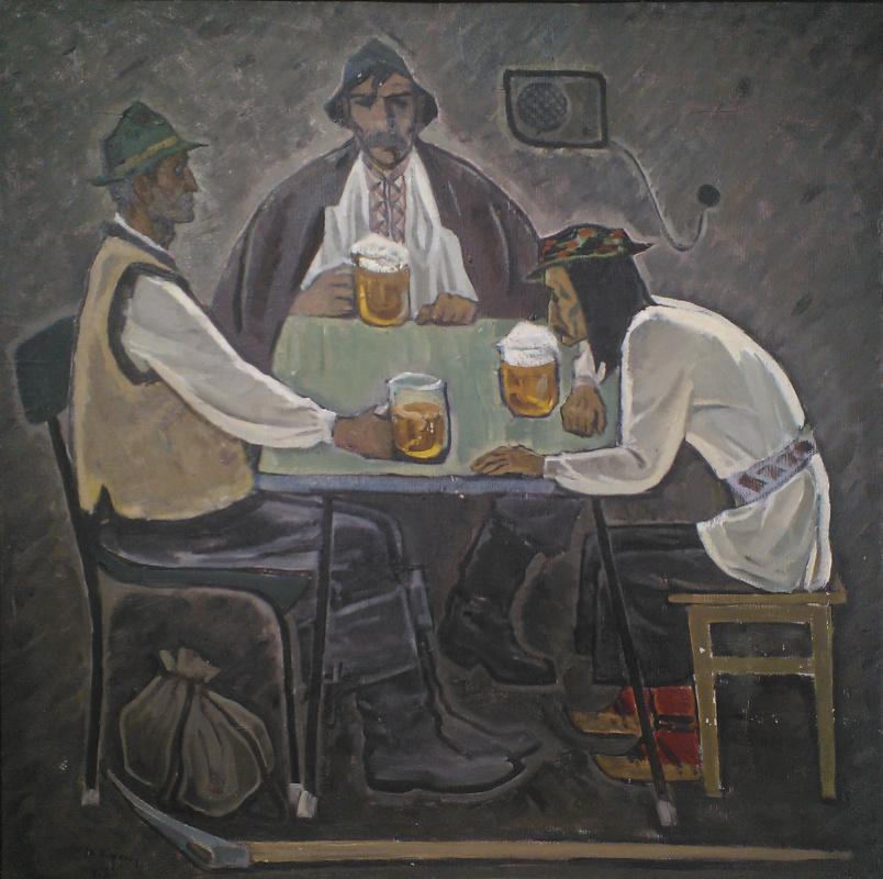 Вениамин Владимирович Кушнир. Пьют пиво