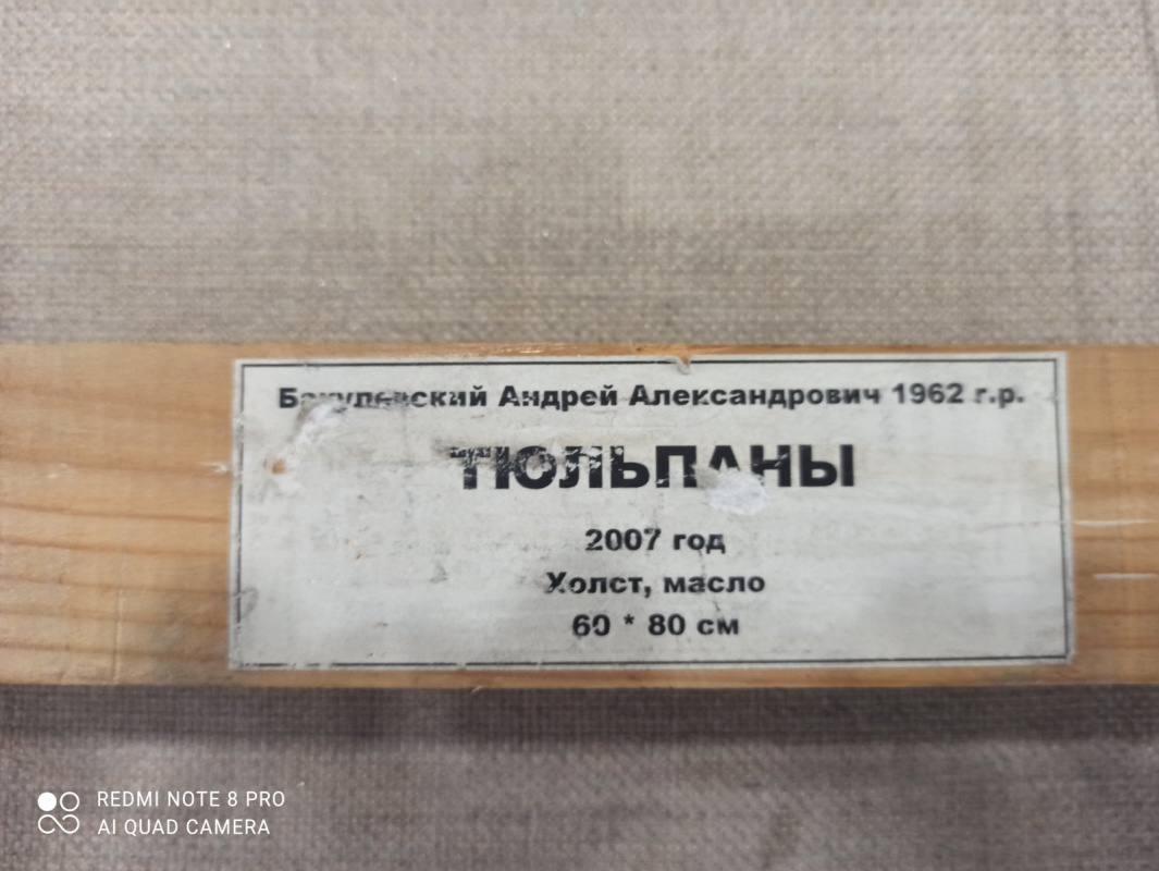 Andrei Aleksandrovich Bakulevsky. Тюльпаны
