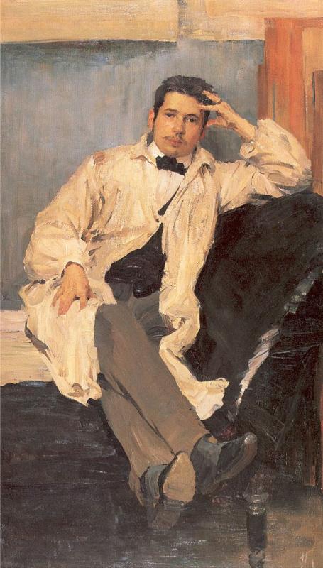 Philip Andreevich Malyavin. Portrait of the artist Konstantin Somov