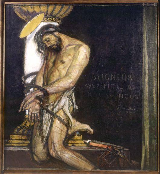 Жорж Девалье. Христос у колонны