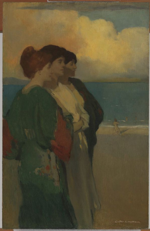 Arthur Frank Matthews. Song of the sea (the Three graces)