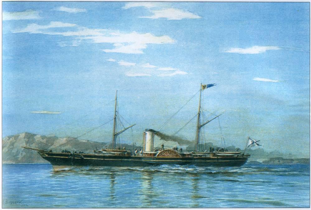 Александр Карлович Беггров. Императорская яхта «Штандарт» (1858—1879)», 1892