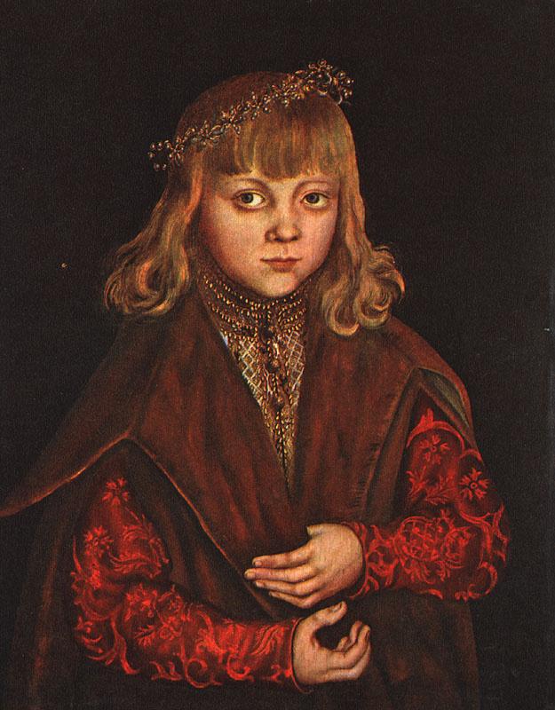 Лукас Кранах Старший. Принц саксонский