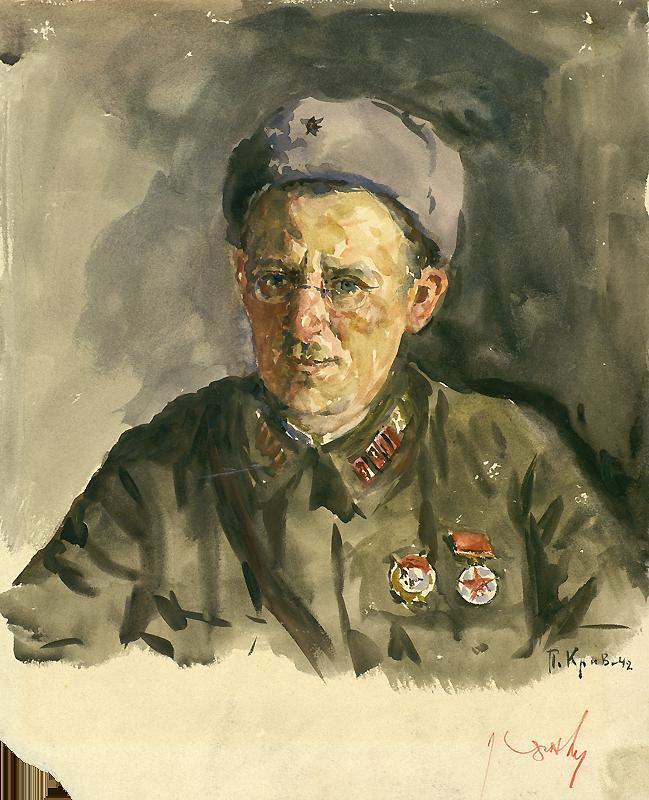 Петр Александрович Кривоногов. Портрет Петра Николаевича Чернышева