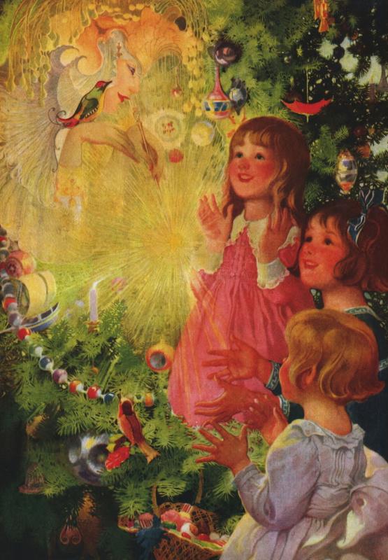 Волшебница новогодней елочки