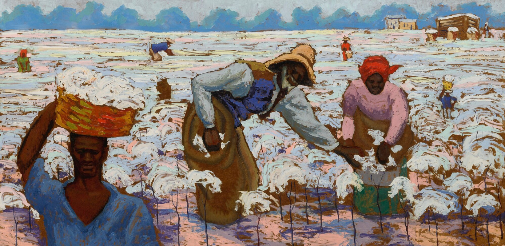Hale Aspasio Woodruff. Picking cotton