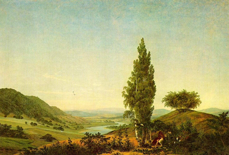 Caspar David Friedrich. Summer