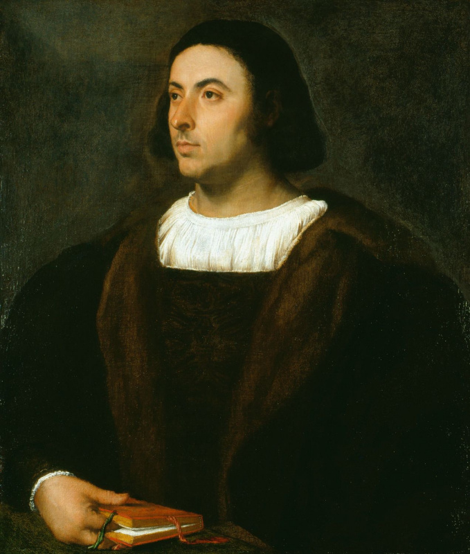 Тициан Вечеллио. Портрет Якопо Санназаро