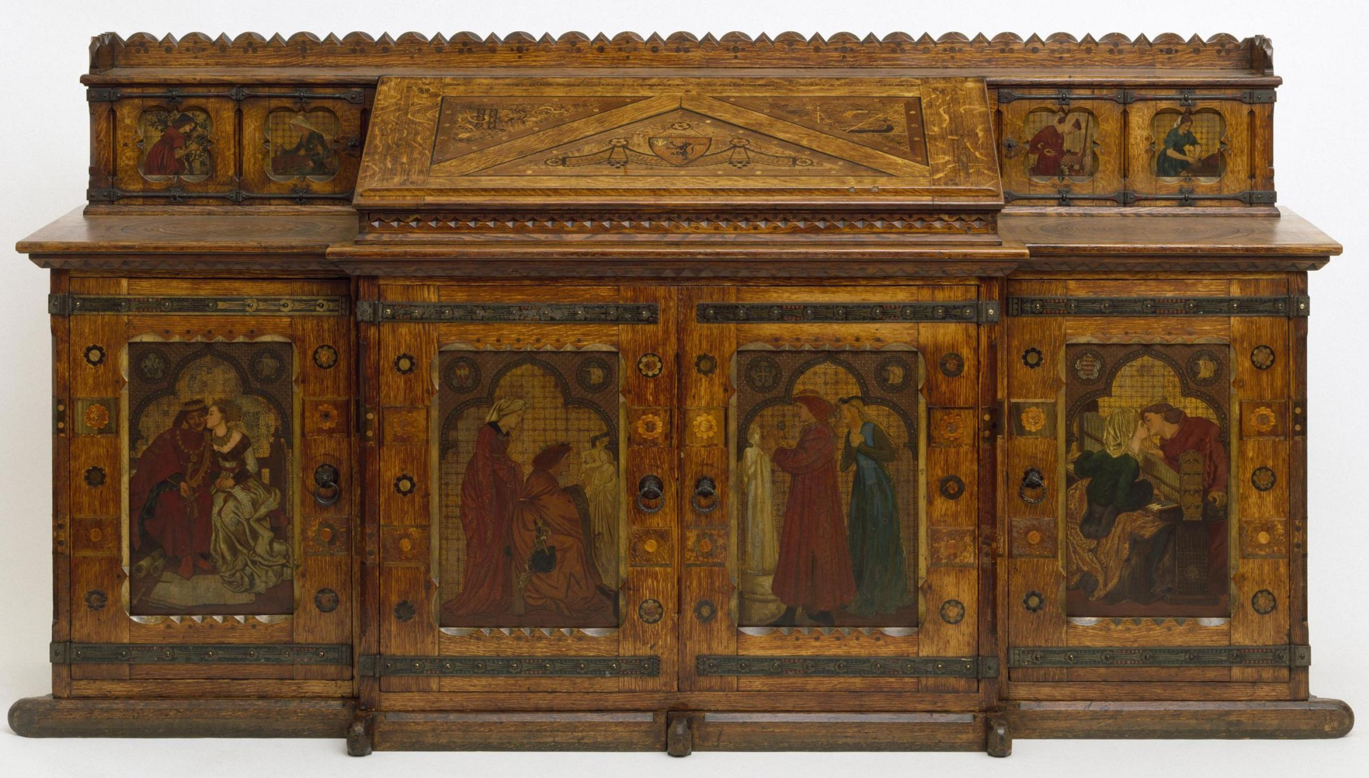 William Morris.  Le roi Lune de miel du Cabinet, René (co-auteur de Ford Madox Brown, Dante Gabriel Rossetti et Edward Burne-Jones)