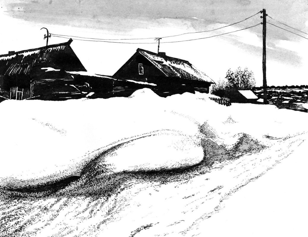 Vladimir Vasilyevich Abaimov. In the Middle of Winter 13