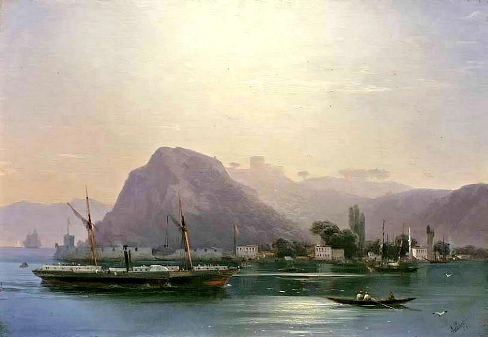 Ivan Aivazovsky. View Of The Bosphorus