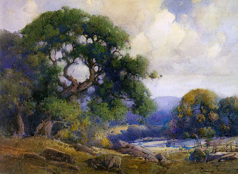 Henry Percy Gray. Blue cloud